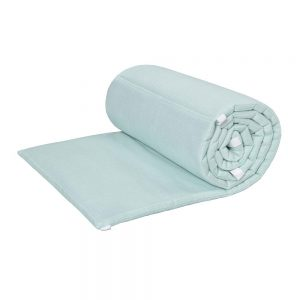 Set protectii patut 60x120cm LIGHT TURQUOISE