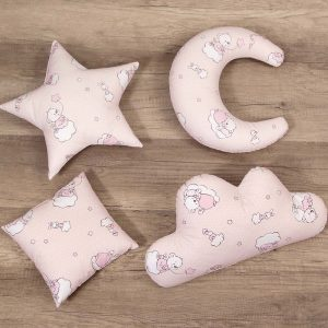 Set perne decorative BEARS – PINK