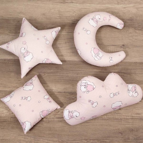 Set perne decorative BEARS - PINK