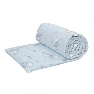 Set protectii patut 60x120cm  BEARS – BLUE